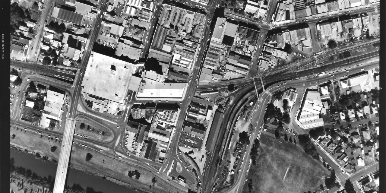 Ipswich Aerial Photograph 28 May 1981