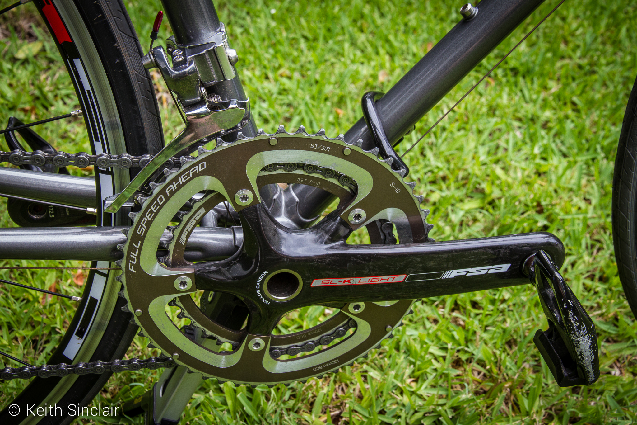 FSA SL-K Light Carbon Fibre Crankset
