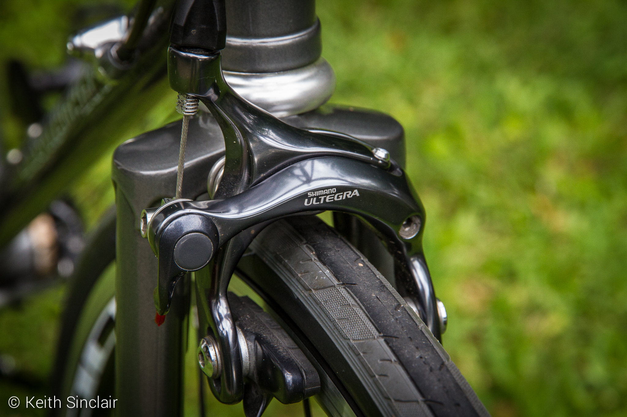 Shimano Ultegra Front Brakes, Stronglight Headset