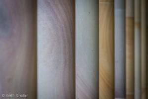 Sandstone Pillars of the Great Court